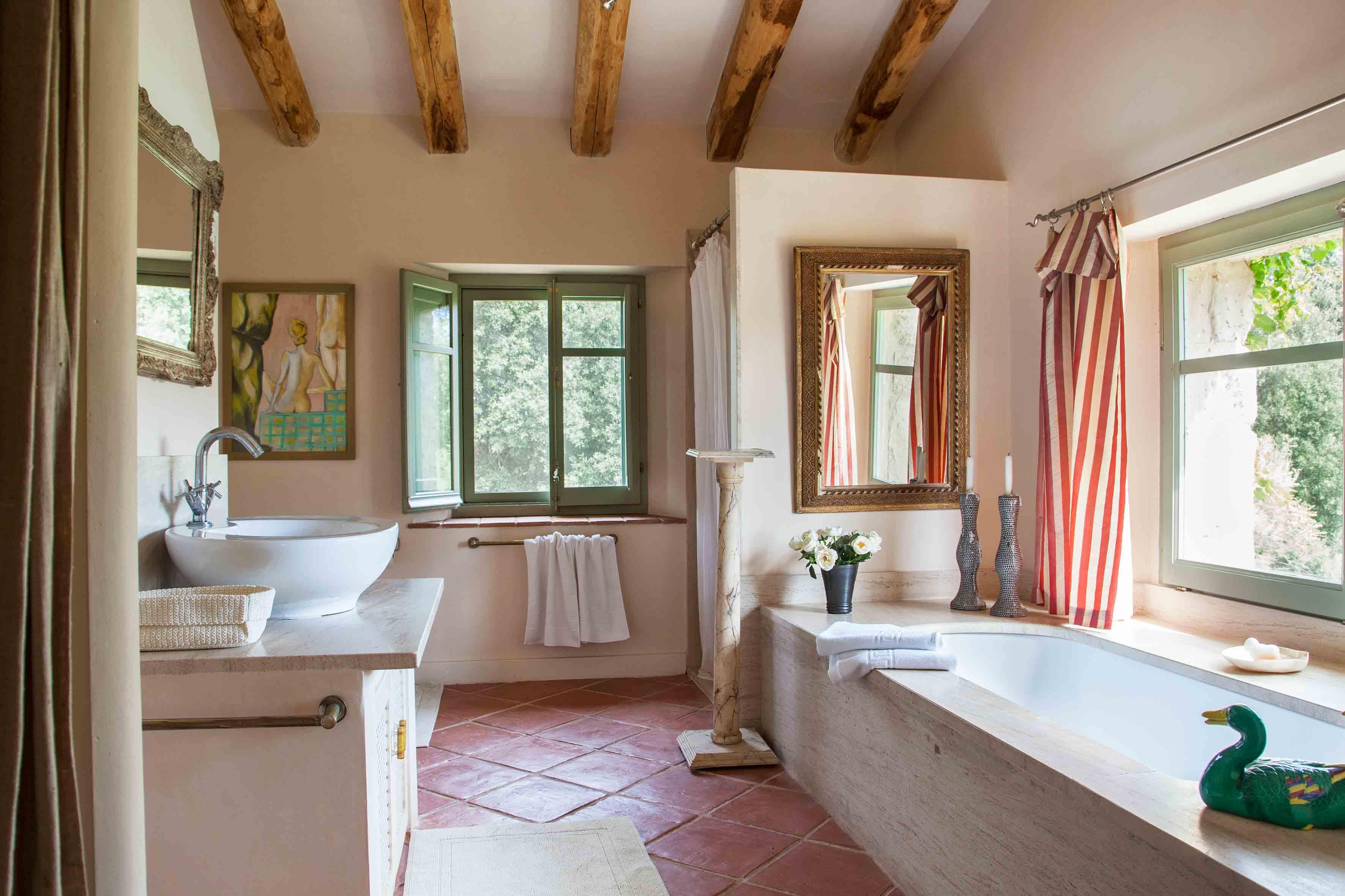 Maria pujol casa campo la mas a del caballero - Casas de campo restauradas ...
