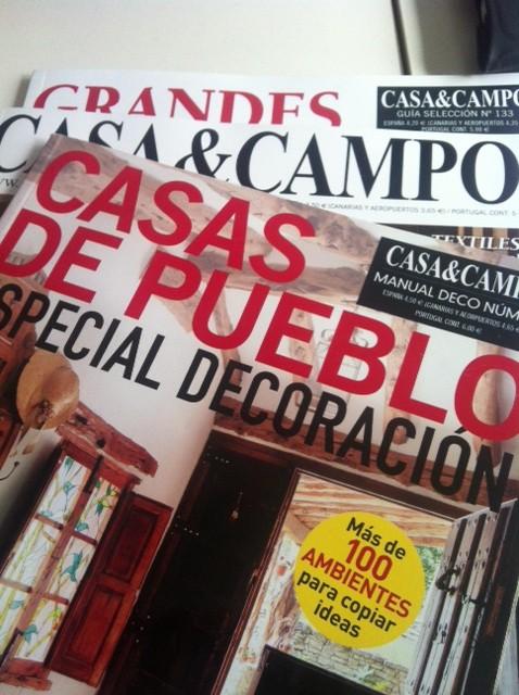 Nos os perdáis todos nuestros reportajes de casas, nos publican en 3 revistas!