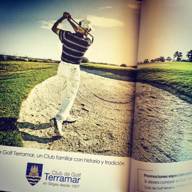 Publicación en Magazine Terramar Golf Sitges!