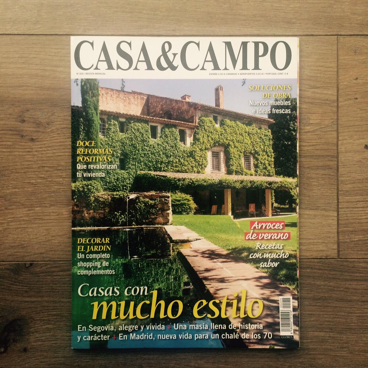 Portada Casa&Campo by PujolEstudio