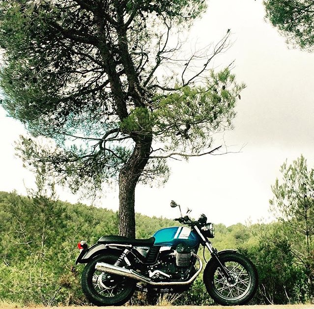 Sesión para Motos.net nueva Moto Guzzi V7 Special